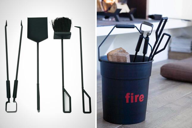Modern Fireplace Tools HomesFeed