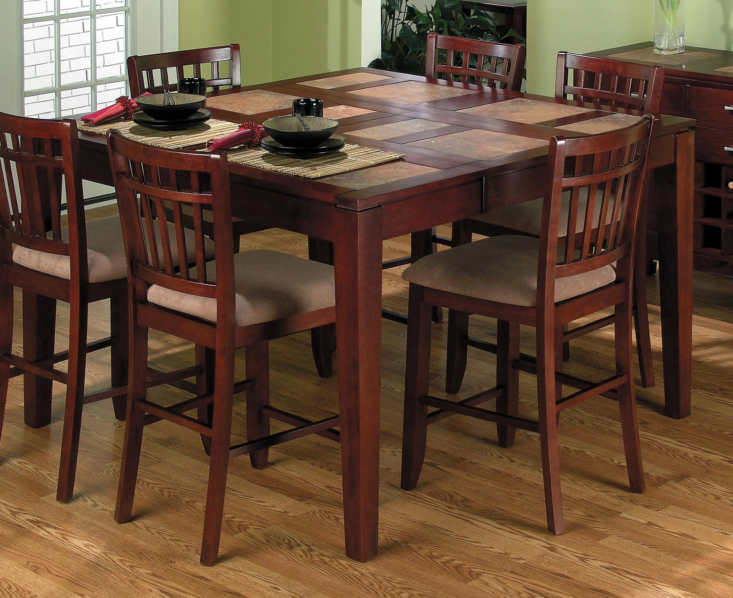 High top kitchen table sets homesfeed for Best wooden dining tables and chairs