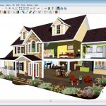 Home design in 3D version made by using home design software