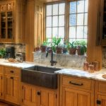 Kitchen set in mission style