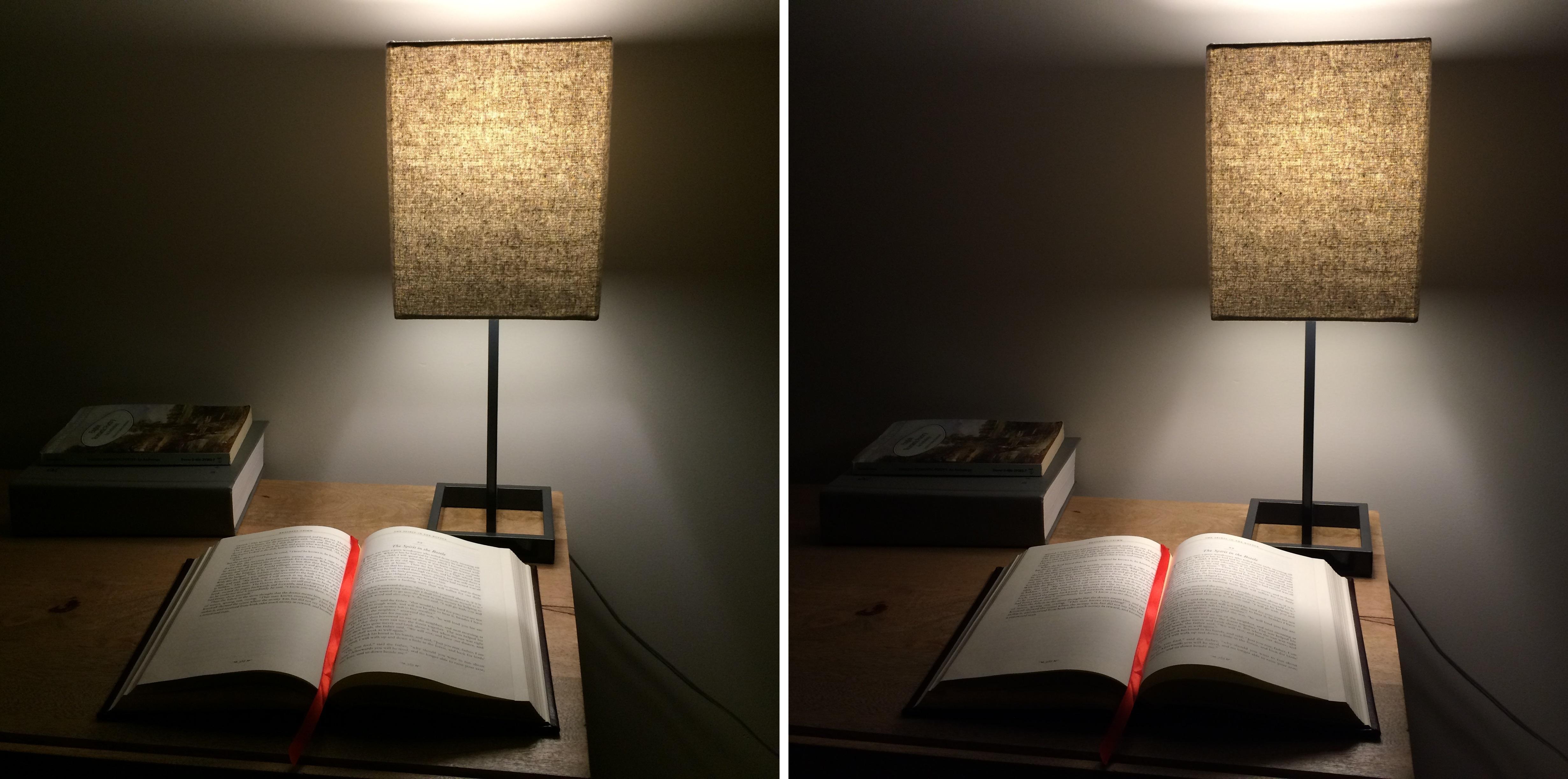 LED bulb illumination