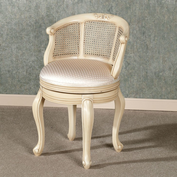 Vanity Chair With Back Design Options Homesfeed