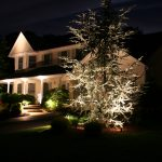 Lighting Design Of Outdoor House For Christmas
