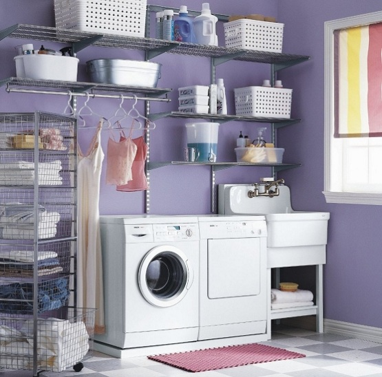 Metal Wire Shelves For Laundry Room A Lot Of Box Storage Units In Different Sizes Washing