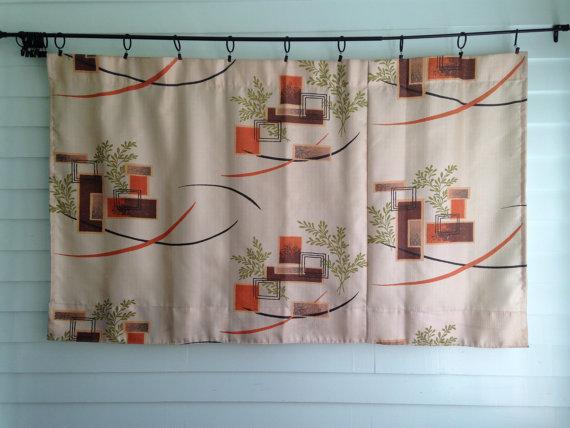 Mid Century Modern Curtains Homesfeed