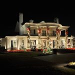 Modern Christmas Outdoor Decoration For House Exterior Lighting