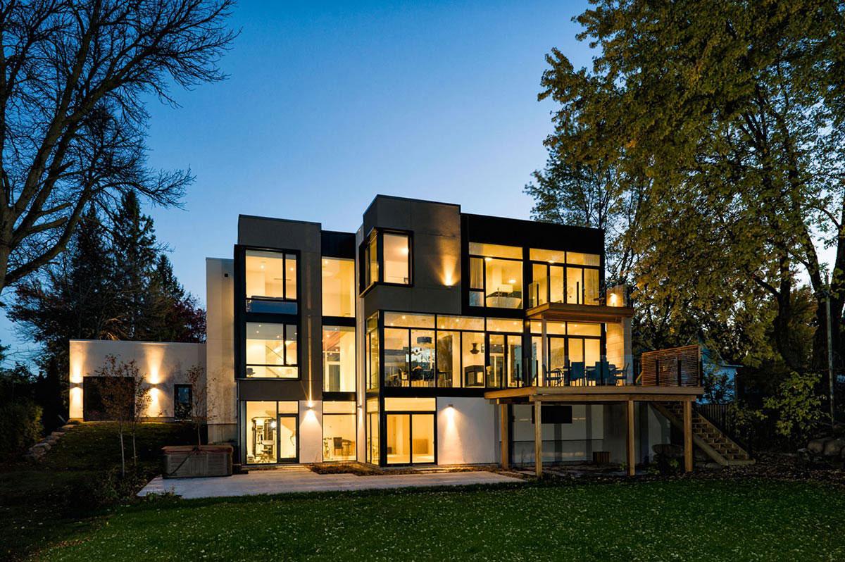 Mountain home ideas homesfeed for Modern mountain home designs