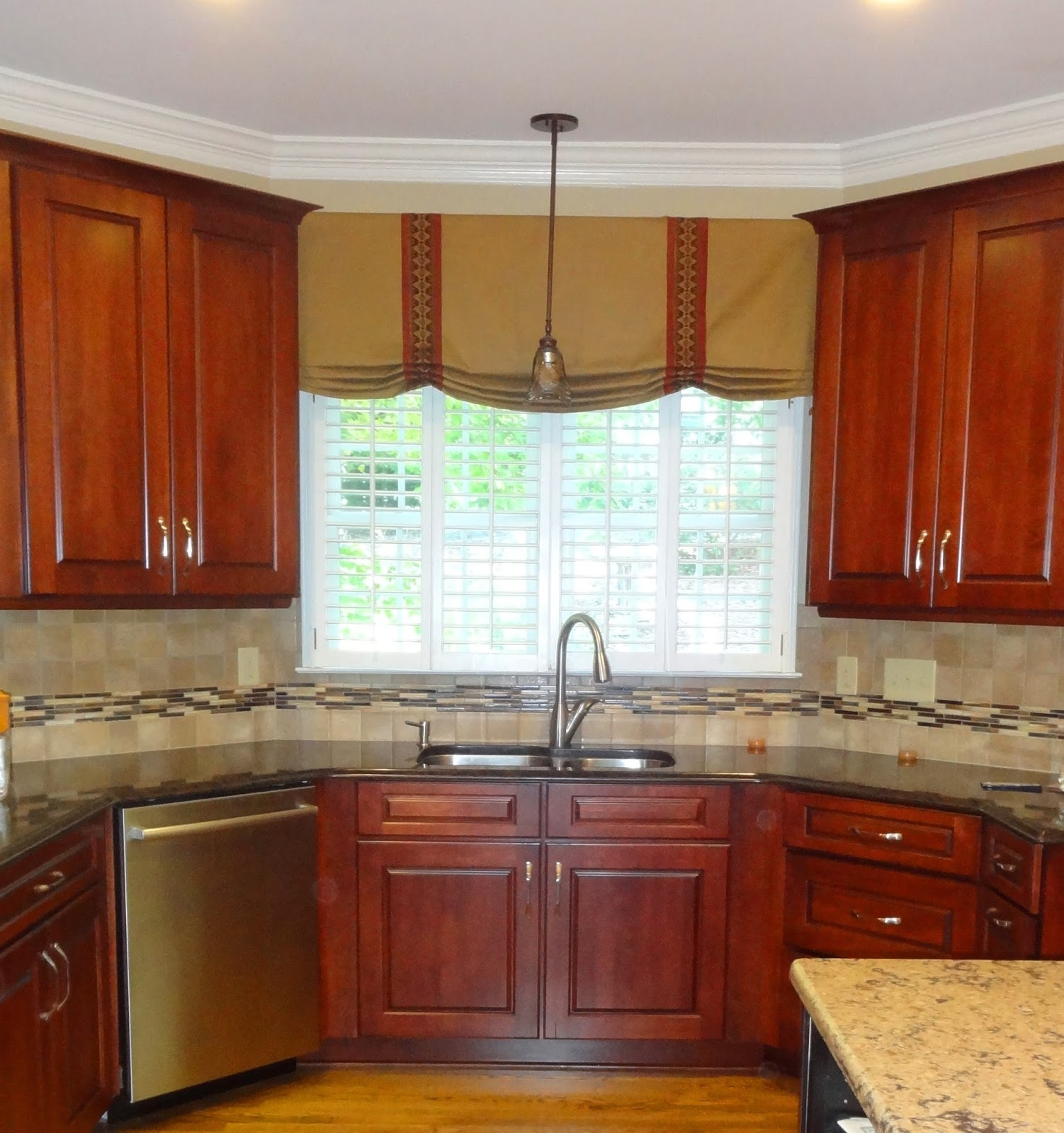 Kitchen Window Valances Image Of Valances For Kitchen Windows - Kitchen window treatment ideas