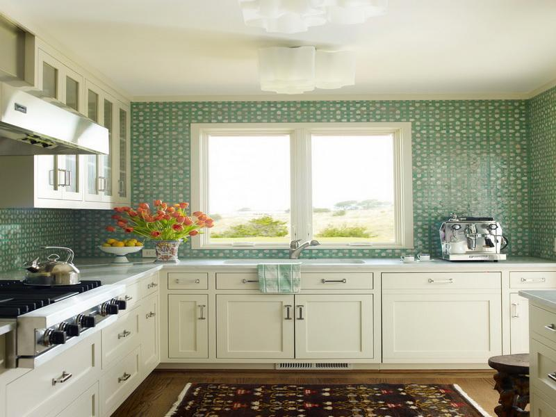 Kitchen Backsplash Vinyl Wallpaper wallpaper for kitchen backsplash | homesfeed