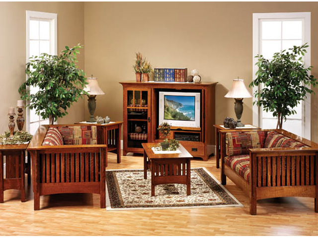modern living room with mission style living room wood chairs with