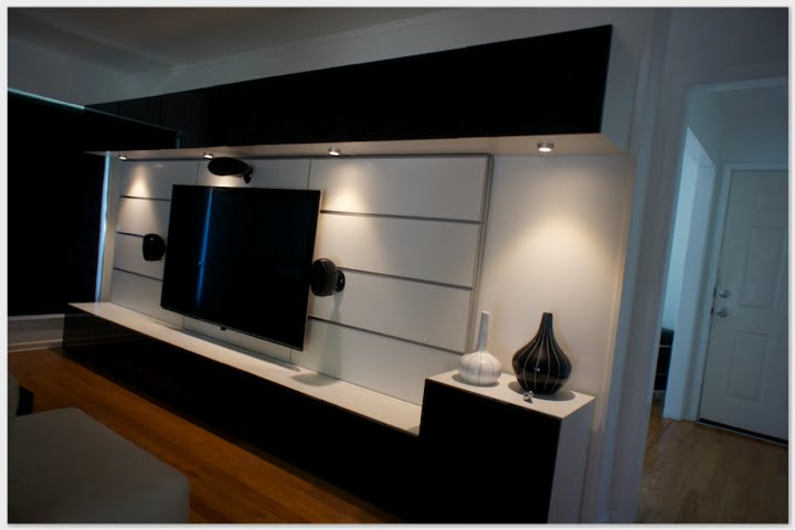 Wall Mounted Tv Fixtures : Entertainment Centers IKEA: Designs and Photos HomesFeed