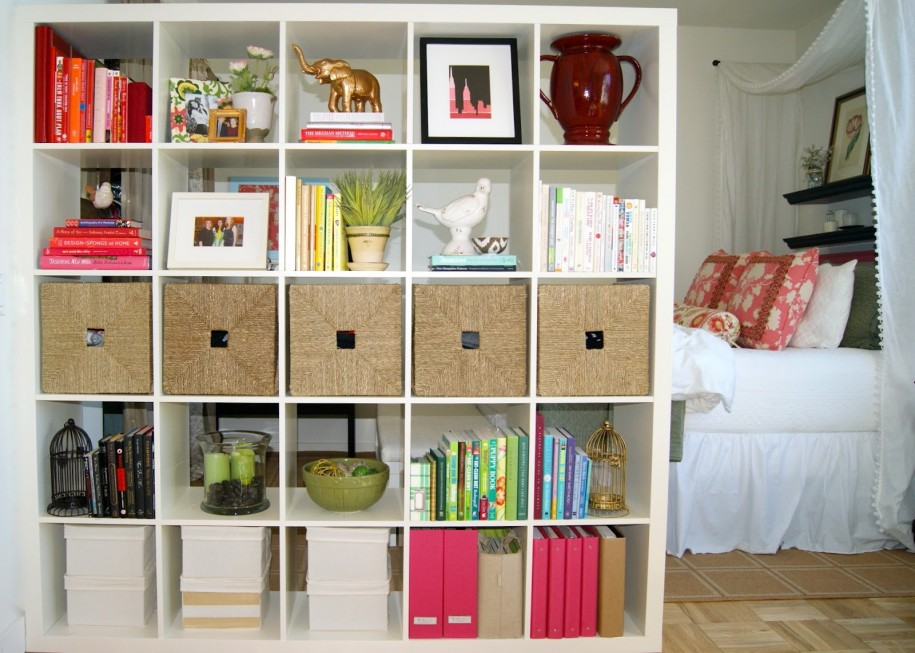Open Bookcase Room Divider Ideas HomesFeed - Book rack designs for bedroom