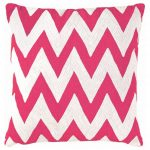 Modern white and pink patterns pillowcase