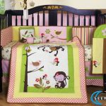 Monkey Theme For Crib Bedding