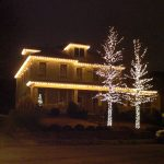 Outdoor Lights Decor Christmas Exterior House