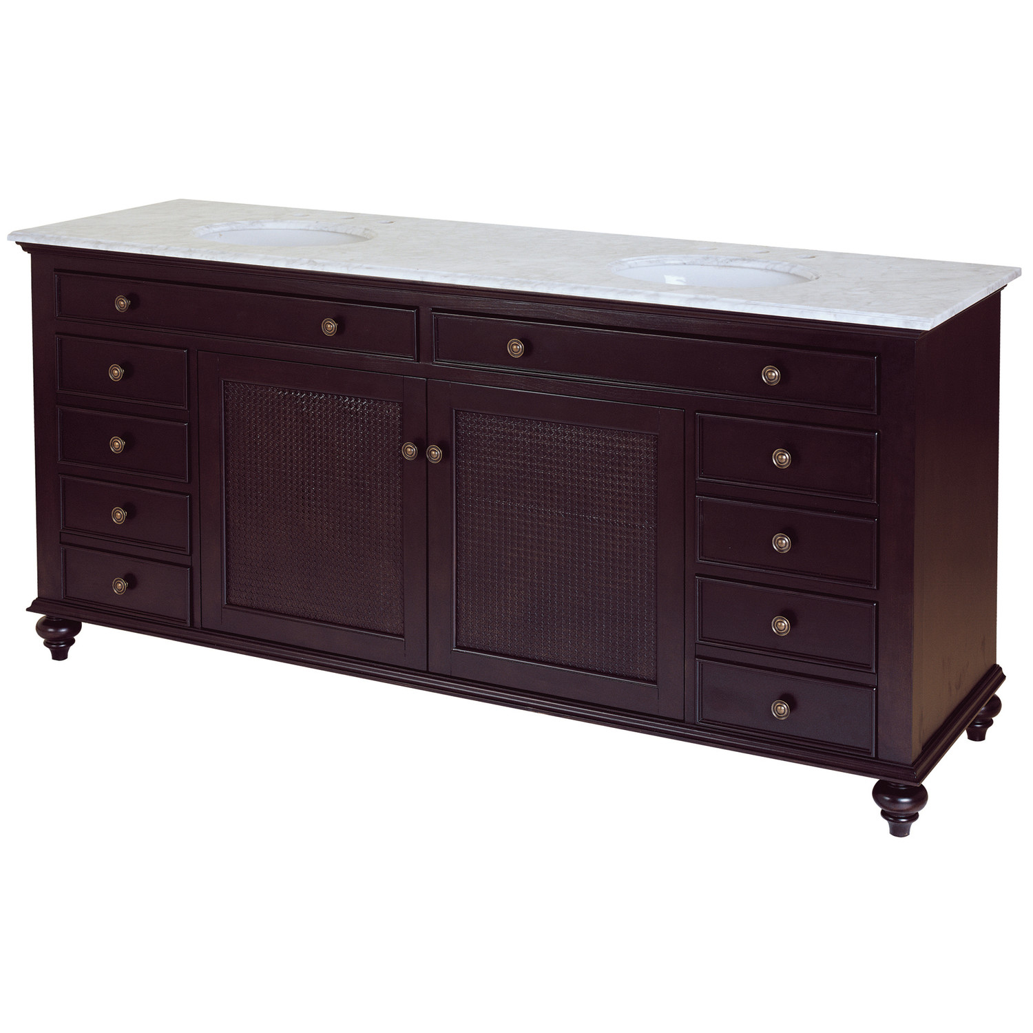 Pegasus Bathroom Vanity Tops With Wooden Drawers And Cabinet