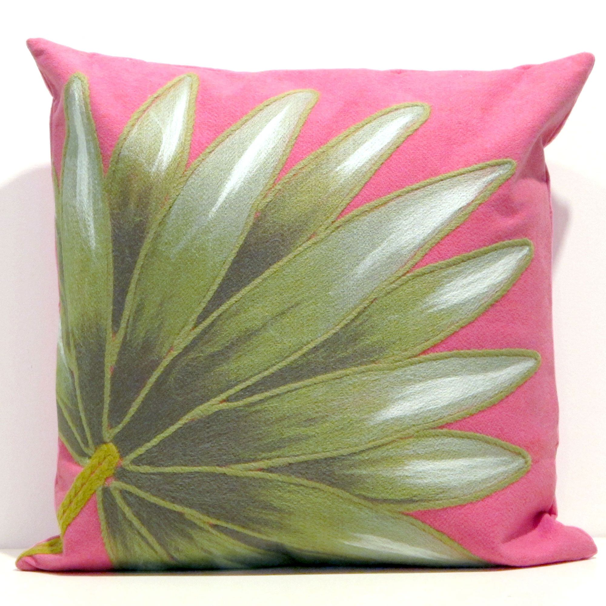 Pink Outdoor Pillows: Design Selections