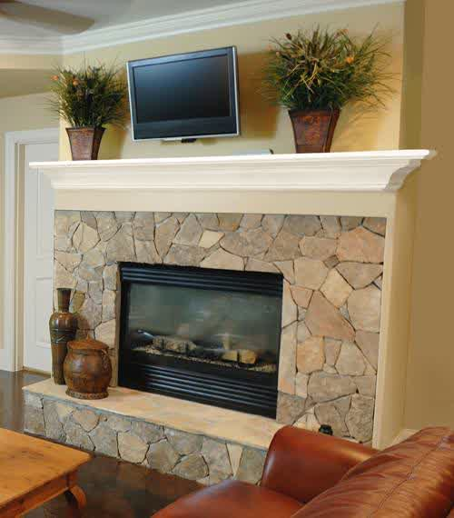 Ideal Fireplace Mantel Height : HomesFeed
