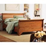 Queen size sleigh bed idea