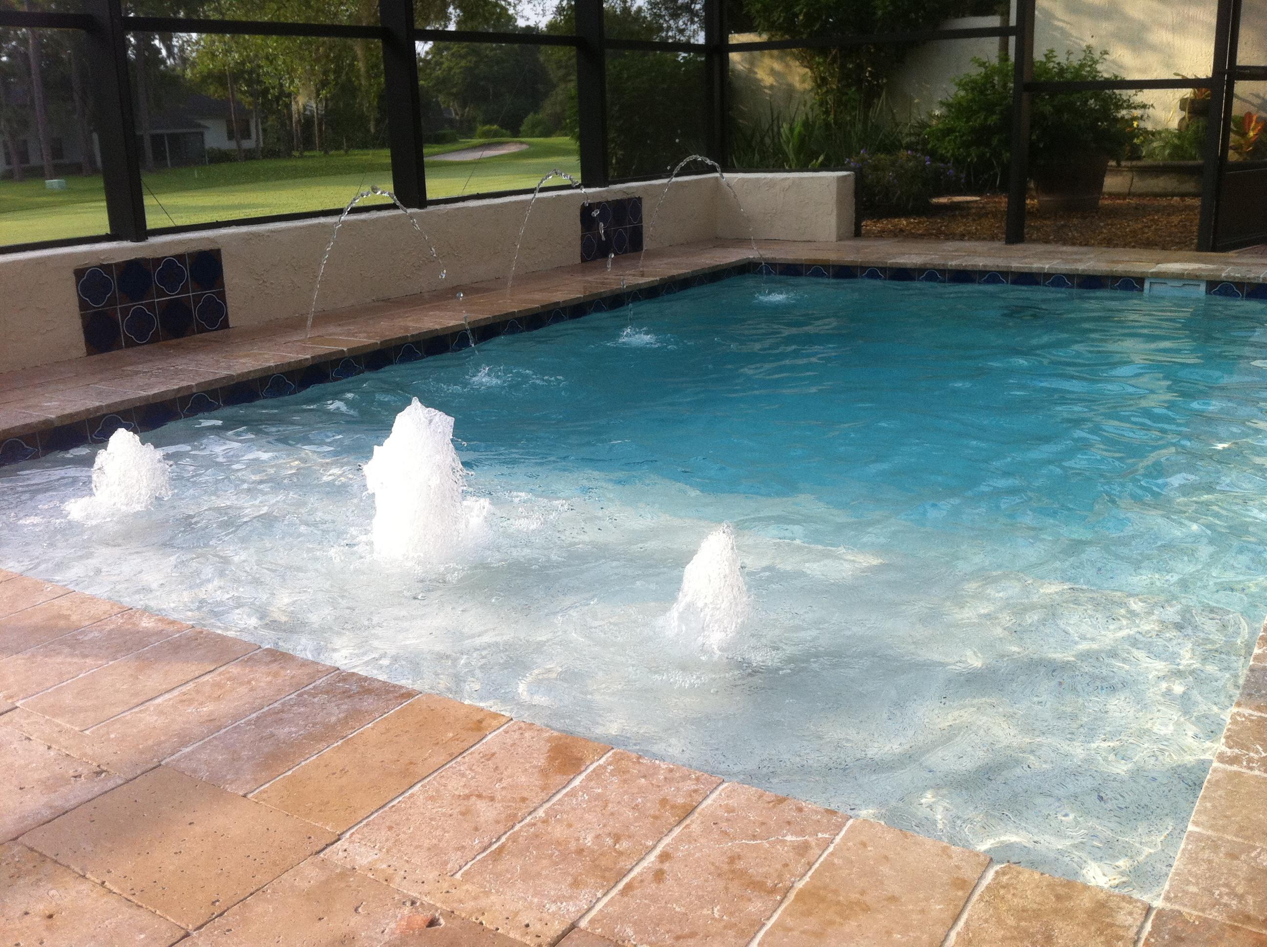 Rectangular pool designs homesfeed for Pool shapes
