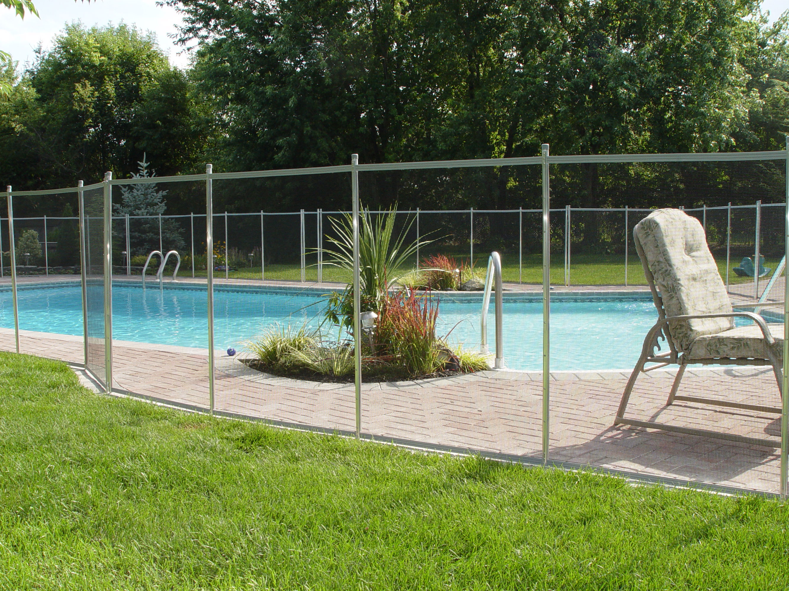 backyard above ground pool landscaping ideas. 10 pool deck and ...