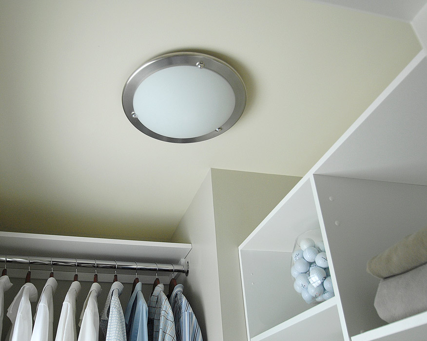 Battery Operated Closet Light Fixture Home Decor