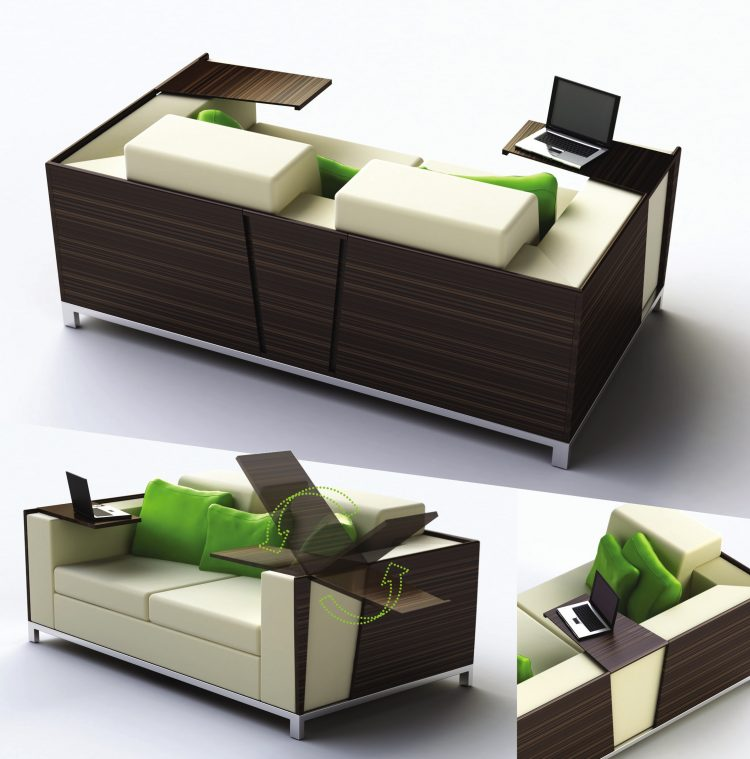 Multifunctional furniture for small spaces homesfeed for Functional furniture