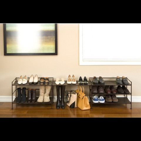Seville-Classics-Utility-Shoe-Rack-in-Brown-color-with-3-shelves-and-metal-frame-material-and-features-foldablewith-easily-clean-with-dry-cloth(1)