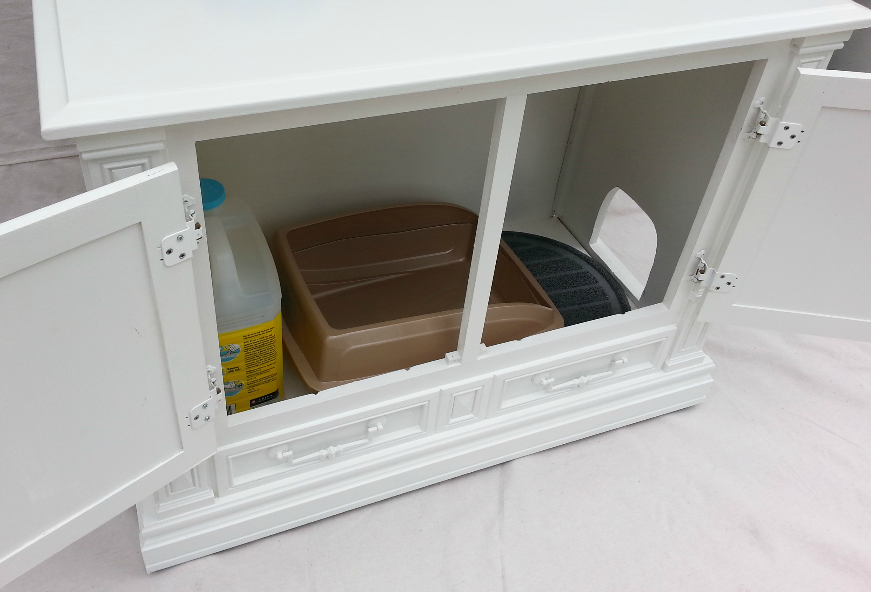 Cat Litter Box Furniture Ikea Homesfeed
