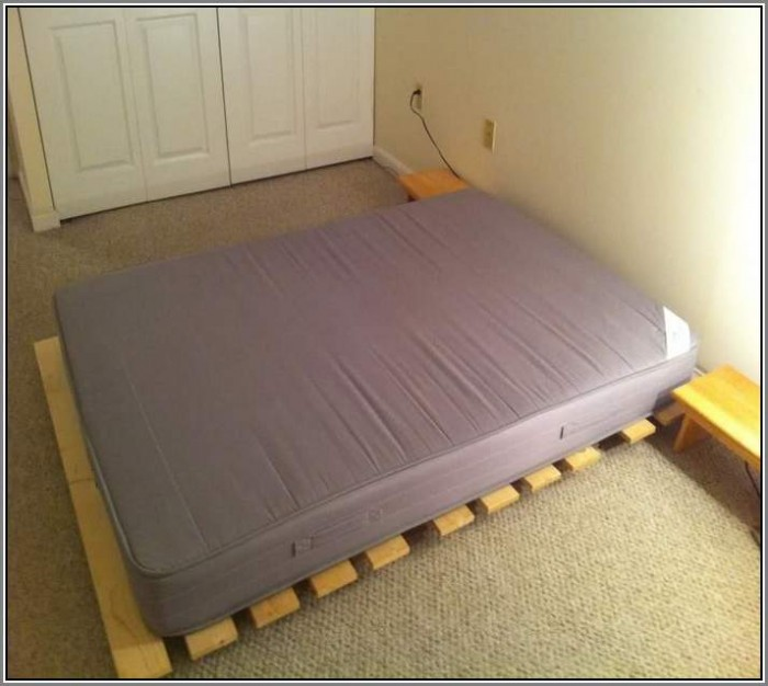 Simple Futon Bed Idea Designed By Ikea
