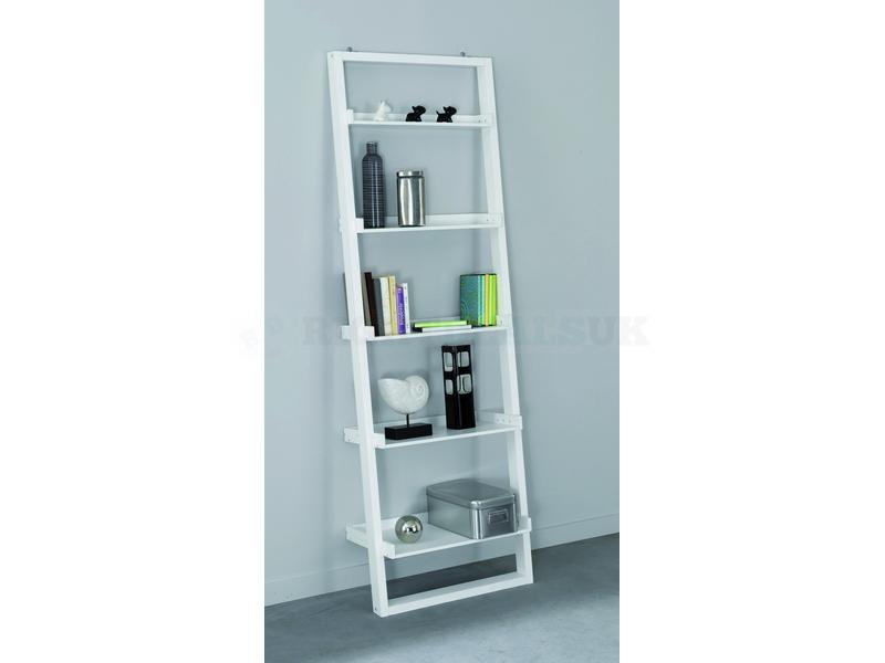 image ladder bookshelf design simple furniture. simple white leaning ladder bookshelf design image furniture e
