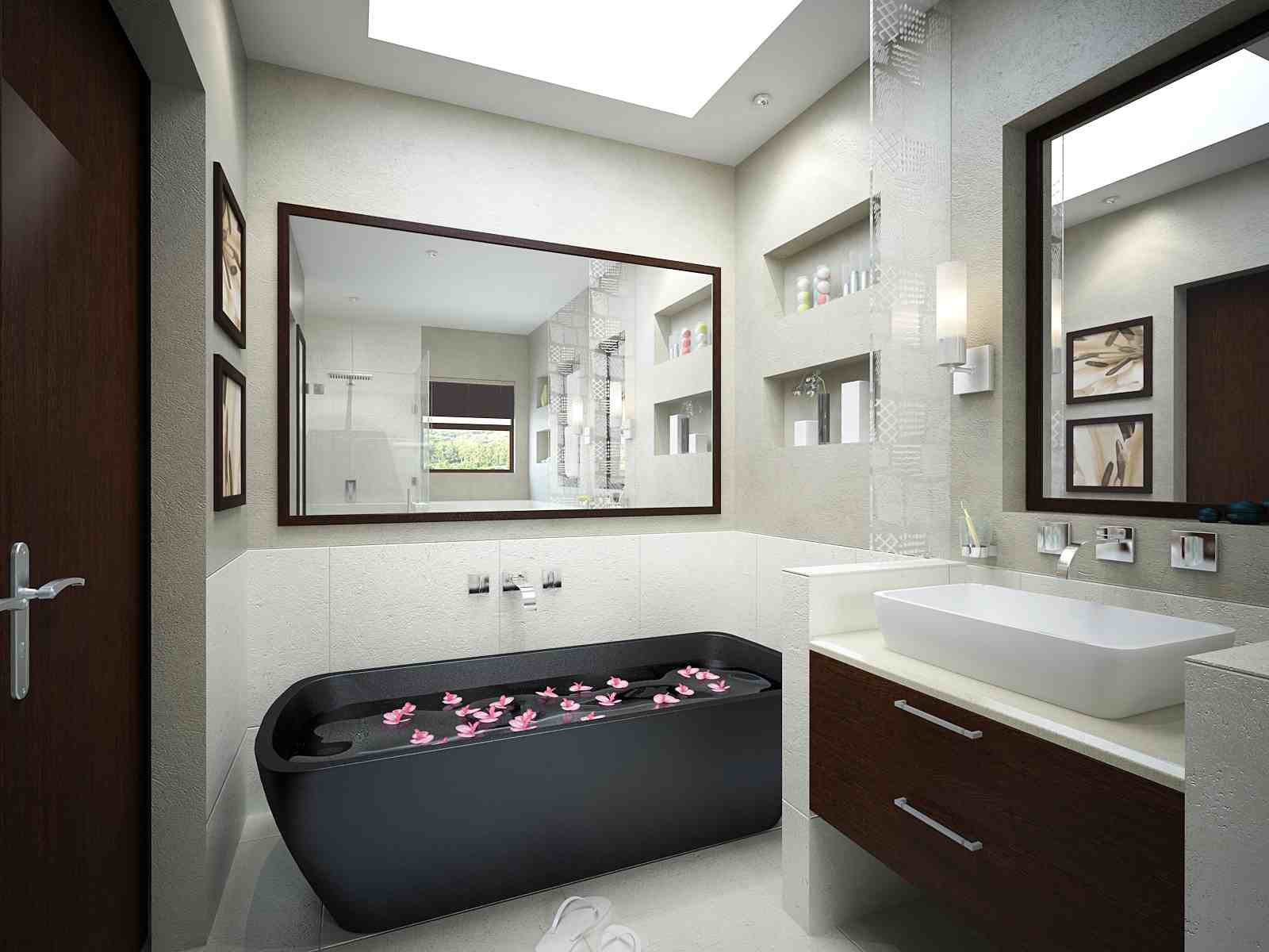 Bathroom Skylight Design Ideas | HomesFeed
