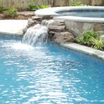 Small Pool Design With Rocks And Waterfall