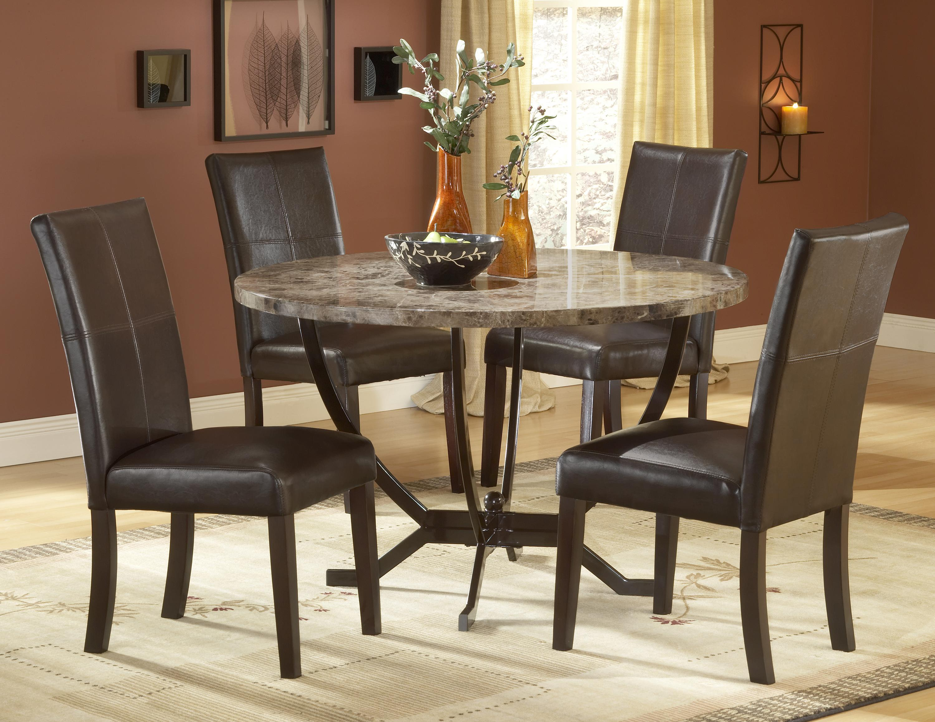 Small dinette set design homesfeed for Small white dining room sets