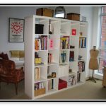 Smaller book rack space divider idea