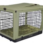 Square Dog Crate With Cool Design