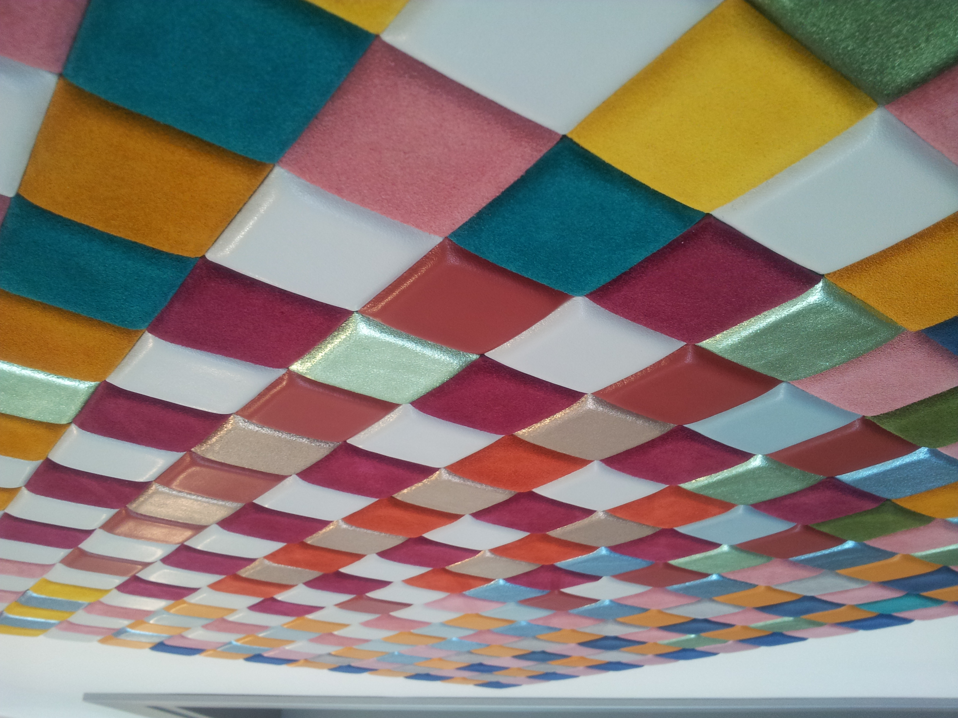 Square Shaped Colorful Removable Tile