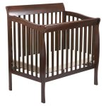 Square Shaped Of Mini Wooden Crib