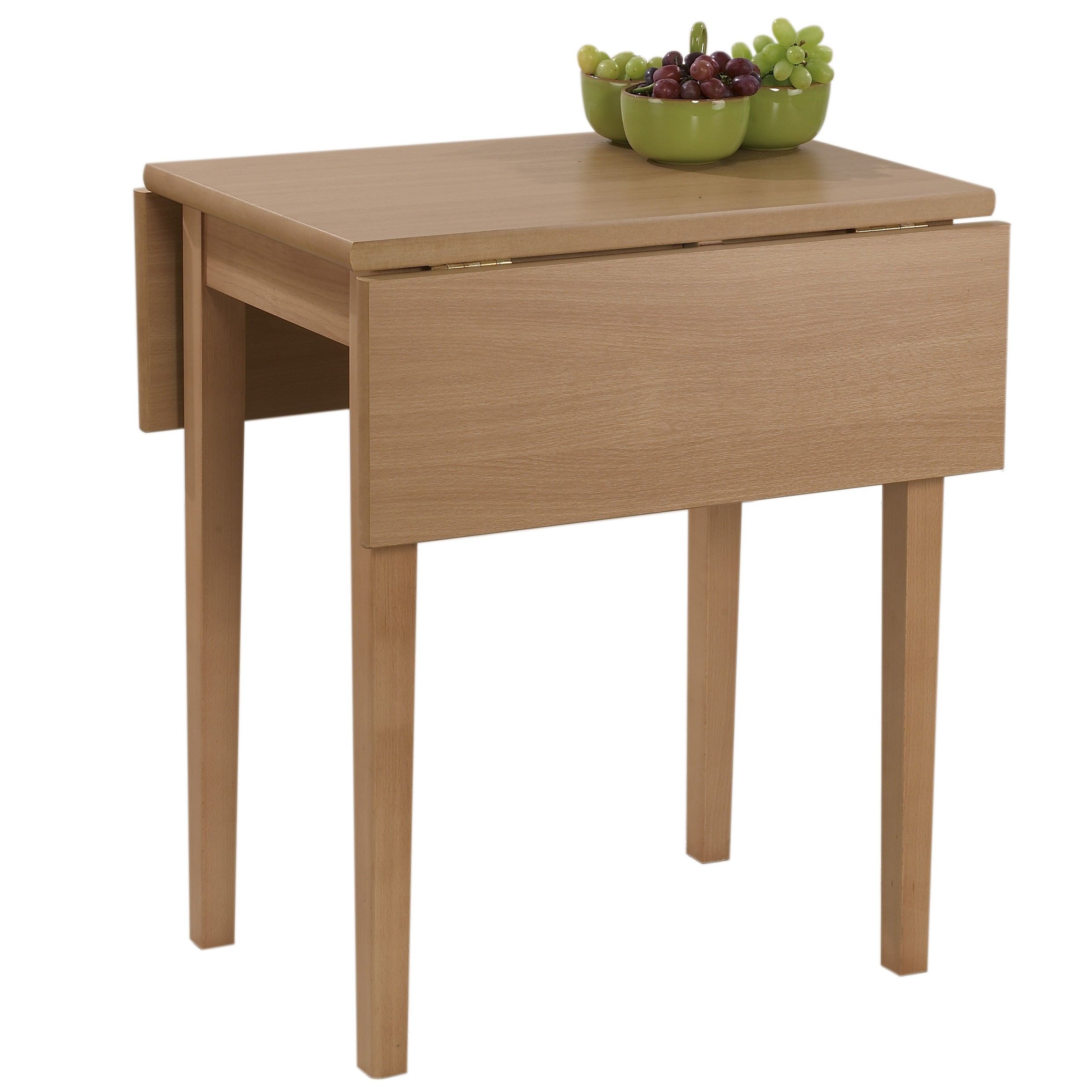 Drop leaf tables for small spaces homesfeed for Small dining table with leaf