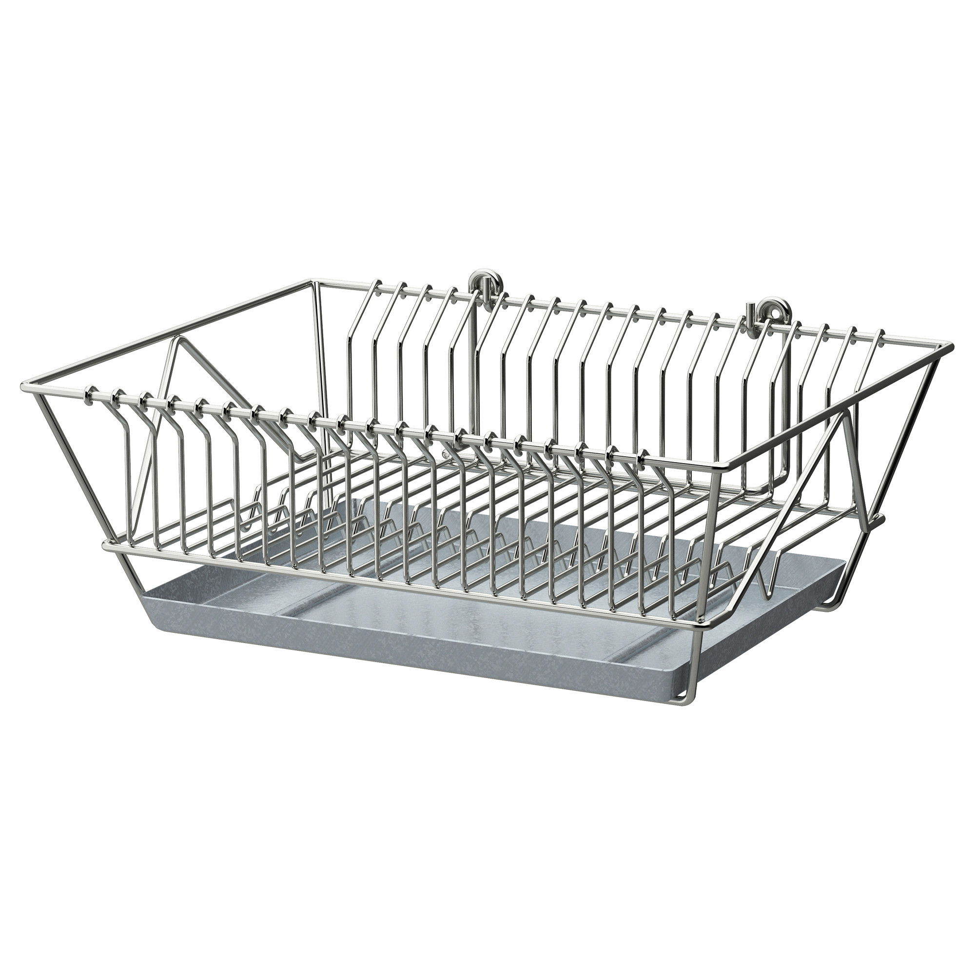 Stainless Steel Rack For Dish Drying  sc 1 st  HomesFeed & Ikea Dish Drying Rack | HomesFeed