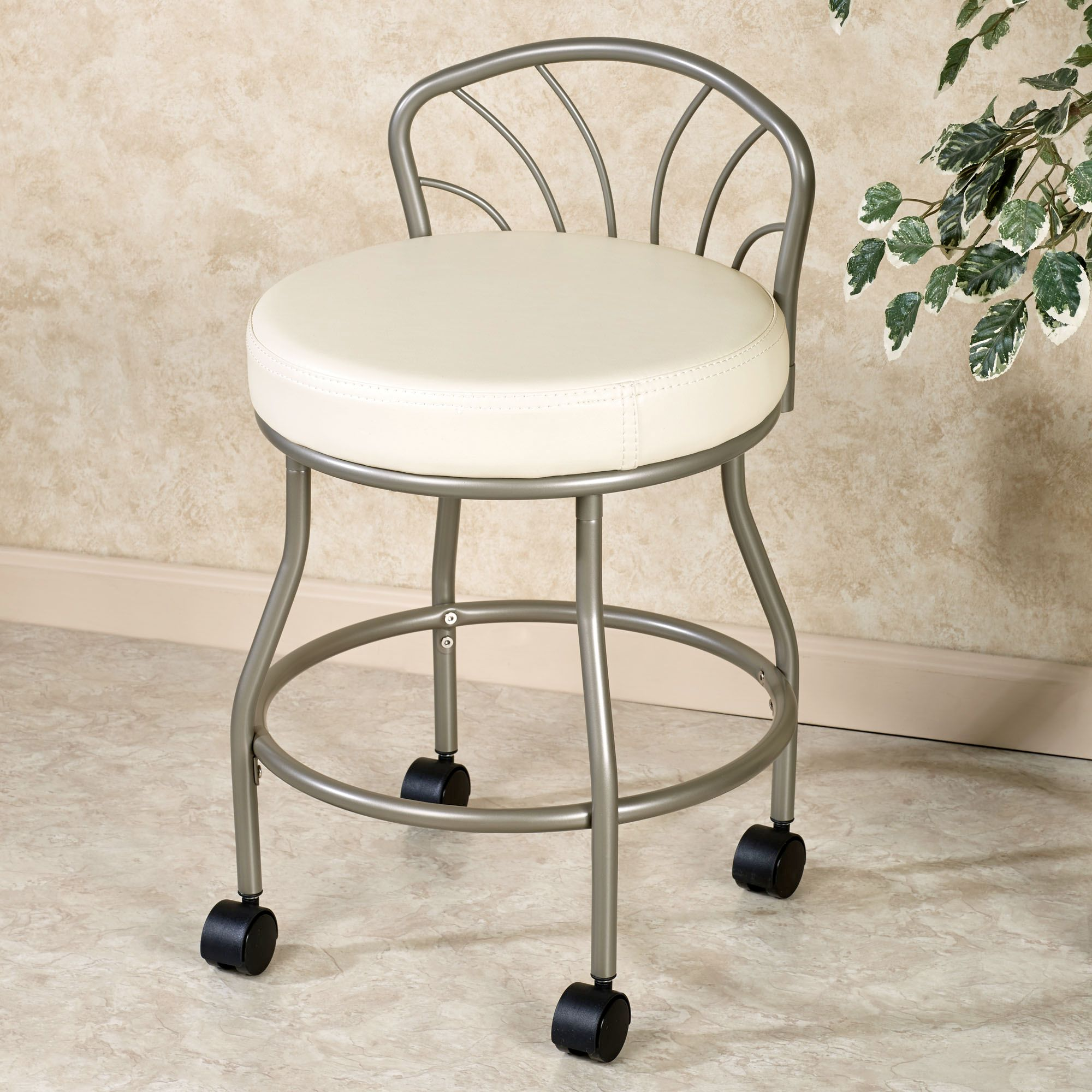 Bathroom vanity stools