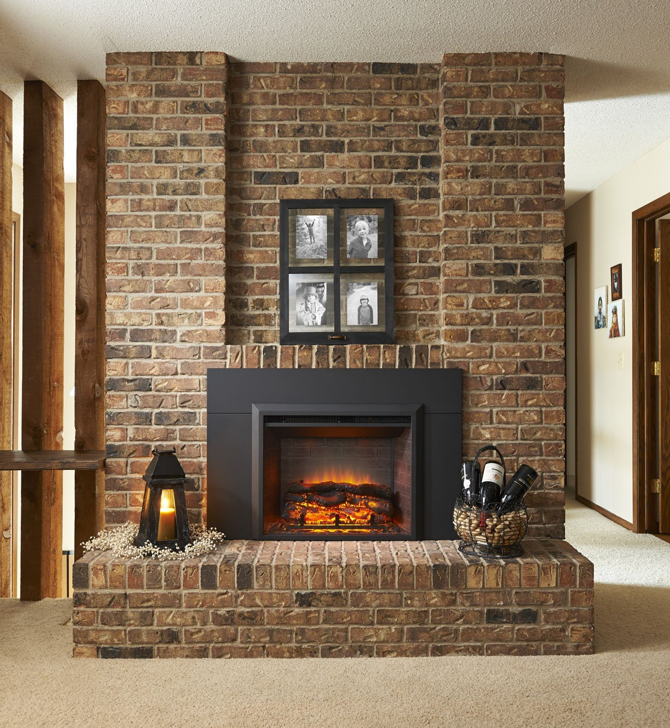 Cottage Decor Together With Raised Hearth Best Stone For Fireplace