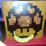 Stylish Cutting Board Next To Banana
