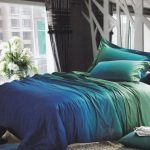 Teal bed set idea