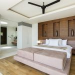 Three blades recessed ceiling fan in black for a modern bedroom floor to ceiling closet organizers in white wooden floor idea three large wall niche ideas for displaying decorative pieces