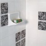 Tile Decal Ceramic For Bathroom On White Wall