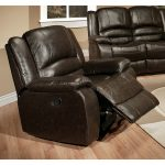 Two Big Recliners With Cream Rug In Hardwood Floor