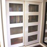 Two Sides Of Closet Sliding Door