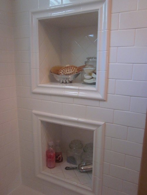 Built In Shower Shelves HomesFeed