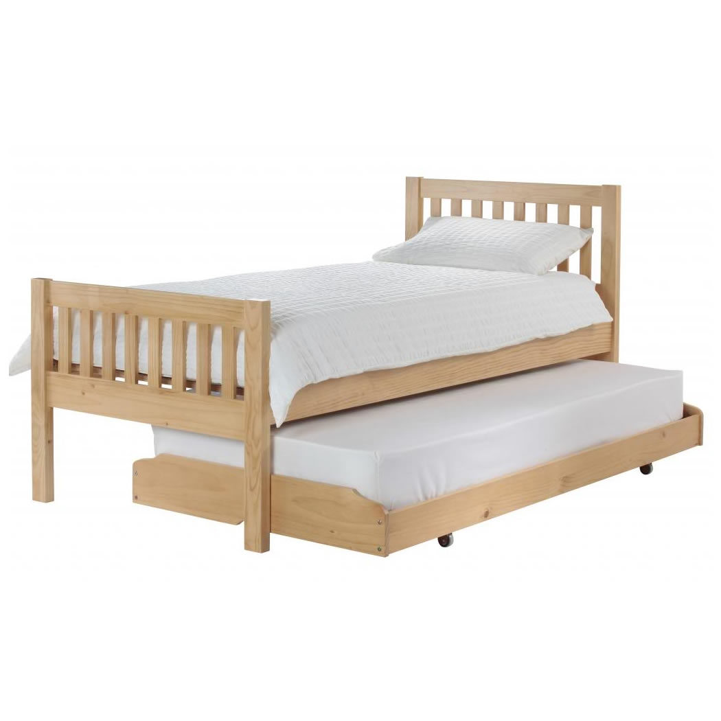 Bed with pull out bed 28 images decor aversa white bed for Pull out bed